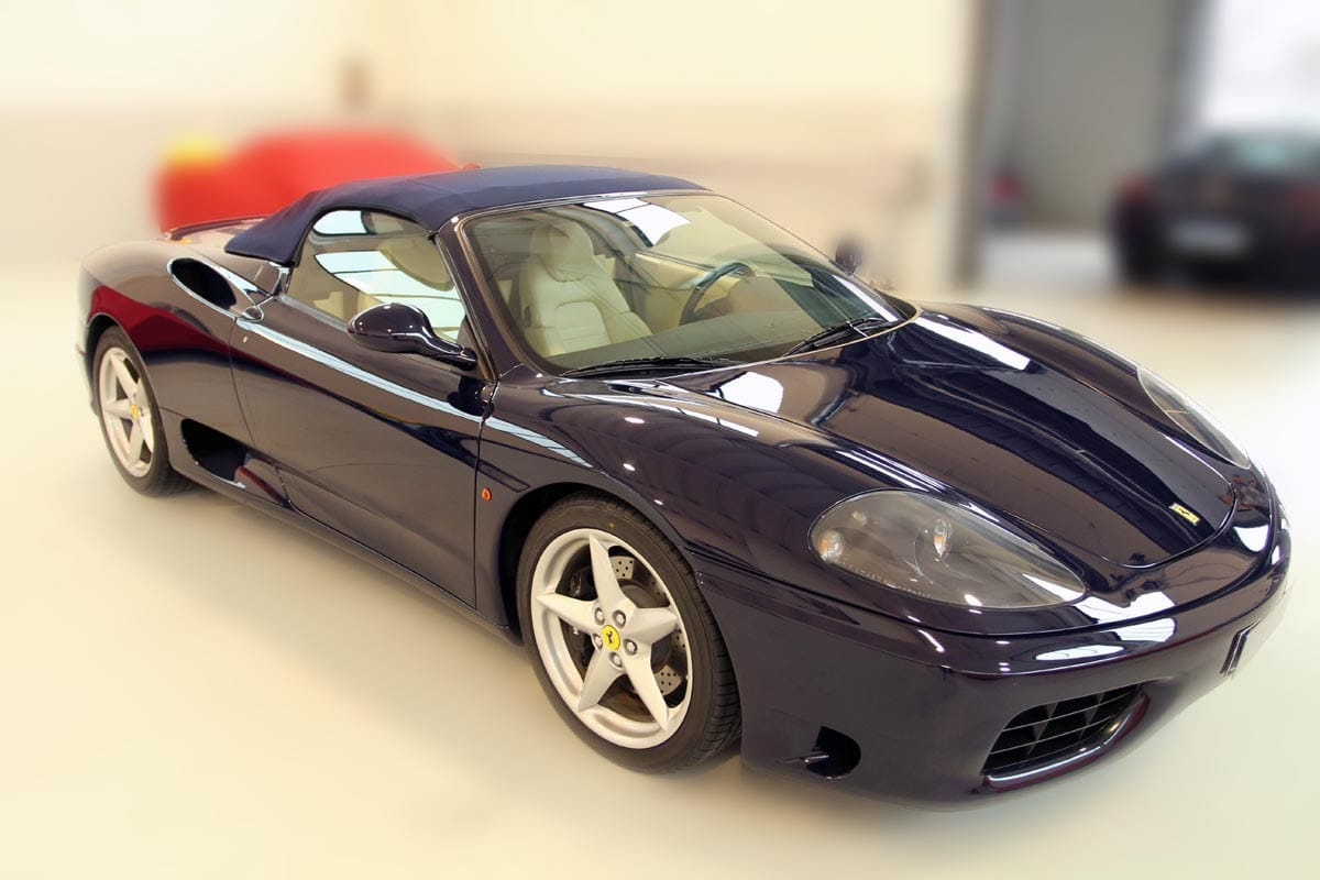 ferrari 360 spider biposto gmbh classic cars in b blingen. Black Bedroom Furniture Sets. Home Design Ideas