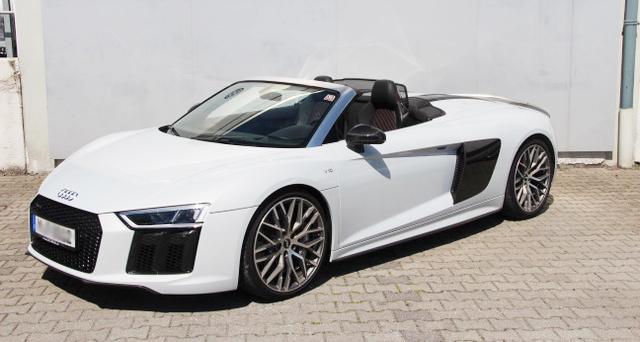 Sportwagen mieten | Audi R8 V10 Plus Spyder mieten